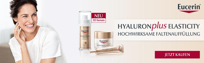 Eucerin Hyaluron plus Elasticy – hochwirksame Faltenauffüllung!