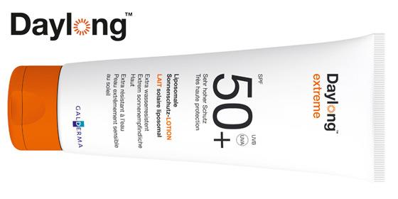 Daylong®: Besonders hautfreundliches liposomales Sonnenschutzmittel!