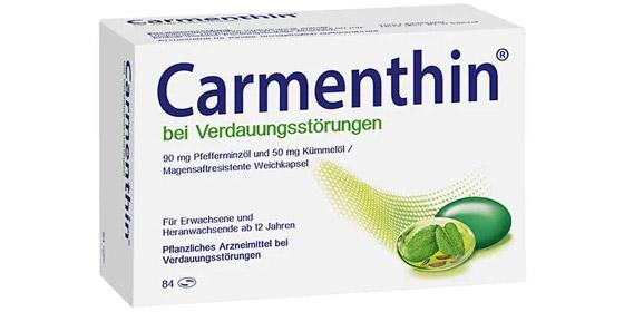 Carmenthin: Die einzigartige Wirkstoffkombination aus Pfefferminzöl und Kümmelöl.