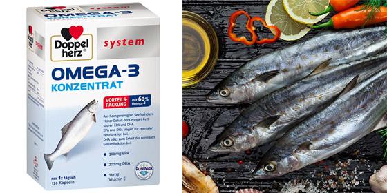 Geistige Leitungsfähigkeit und ein gesundes Herz - Keine Frage des Alters. Mit Doppelherz system OMEGA -3 KONZENTRAT.