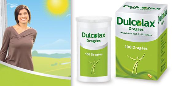 Dulcolax Dragees: Wirken planbar über Nacht und befreien am nächsten Morgen.