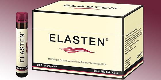 Elasten verbessert die Elastizität der Haut von innen heraus.