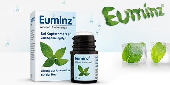 Euminz: Pflanzlich und so stark wie eine Kopfschmerztablette.
