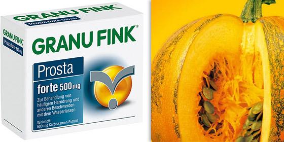 GRANU FINK® Prosta forte - zur Behandlung von Beschwerden im Blasen-Prostata-System.