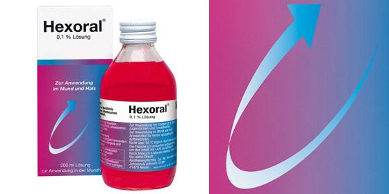 Hexoral - bekämpft schädliche Bakterien und Keime!