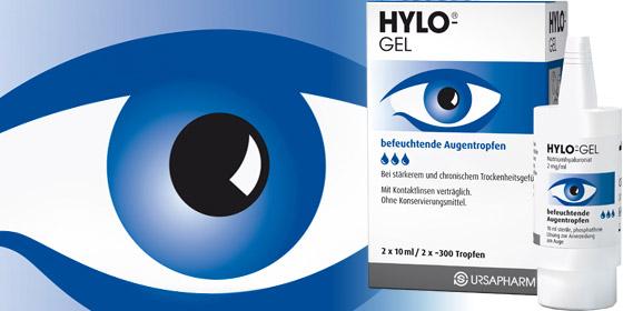 Hylo-Gel - für stark bzw. chronisch trockene Augen oder nach Operationen.
