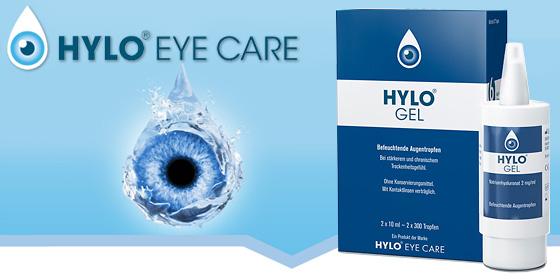 Hylo-Gel bei chronisch trockenen Augen