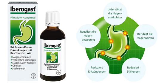 Iberogast: Das pflanzliche Arzneimittel aus neun Heilpflanzen