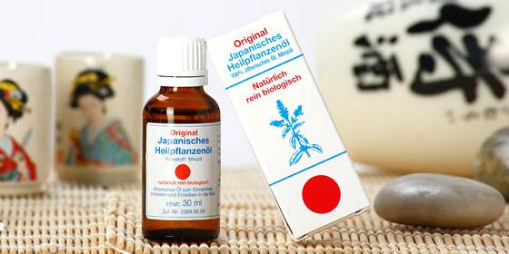Original japanisches Heilpflanzenöl: Ein Hausmittel, das in keinem Haushalt fehlen darf.