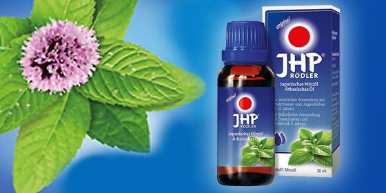 JHP Rödler® enthält die geballte Kraft der Minze.