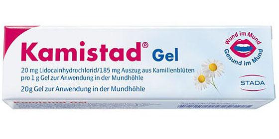 Kamistad Gel ist die bewährte Sofort-Hilfe für Entzündungen im Mundraum für Jung und Alt!