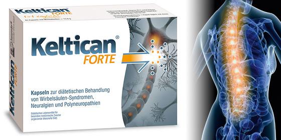 Kelican Forte! Unterstützt die Reparatur geschädigter Nerven.