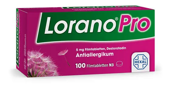 Lorano® Pro – bei Heuschnupfen, Hausstauballergie und chronischer Nesselsucht.