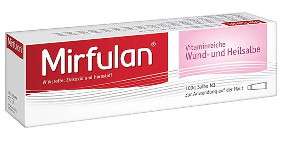 Mirfulan: Wirksam gegen wunde Haut!