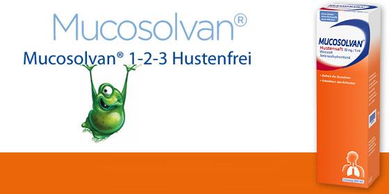 Mucosolvan® aktiviert die Selbstreinigungskräfte der Atemwege.