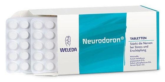 Neurodoron® Tabletten helfen bei stressbedingten Angst- und Unruhezuständen, Kopfschmerzen und depressiver Verstimmung.
