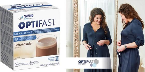 OPTIFAST home, für eine kalorienarme Ernährung zur Gewichtsreduktion