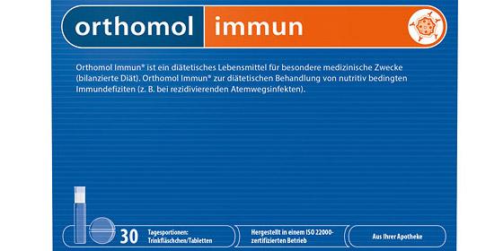 Orthomol Immun – zur Reduktion der Erkältungshäufigkeit