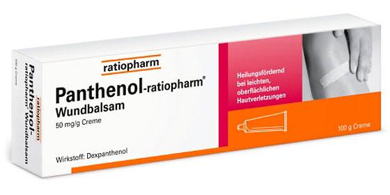 Panthenol-ratiopharm: Zur Unterstützung der Heilung bei oberflächlichen, leichten Hautschädigungen.
