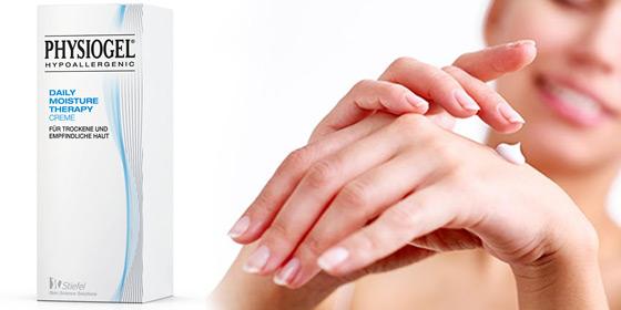 Physiogel - für die tägliche Anwendung bei trockener, empfindlicher Haut!