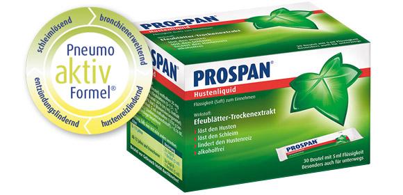 Prospan Hustenliquid: Mit der 4-fach-Kraft des Efeus gegen Husten bei Bronchitis