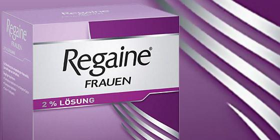 Regaine: Die hormonfreie Lösung gegen anlagebedingten Haarausfall.