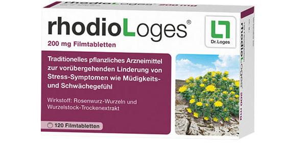 rhodiologes - Die natürliche Hilfe in stressigen Zeiten.
