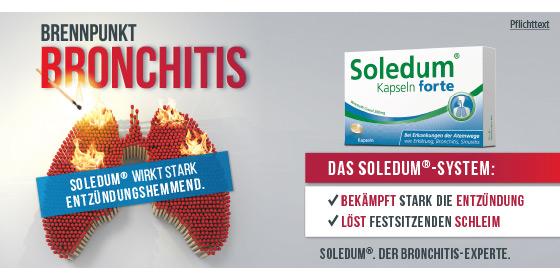 Soledum – der Bronchitis-Experte!
