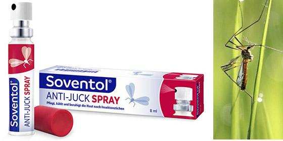 Soventol Anti-Juck Spray - die moderne Alternative bei Insektenstichen!
