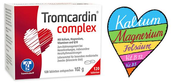 Das Herz wieder in Takt bringen - mit Tromcardin® complex