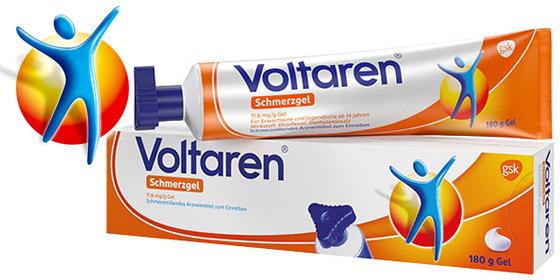 Das Original Schmerzgel mit bewährter 3-fach Wirkung: Voltaren Schmerzgel!