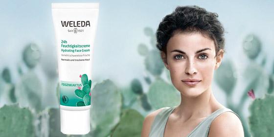Weleda Feigenkaktus, Leichte, schnell einziehende Formel verleiht schwerelose Frische, spendet sofort und bis zu 24 Stunden Feuchtigkeit.