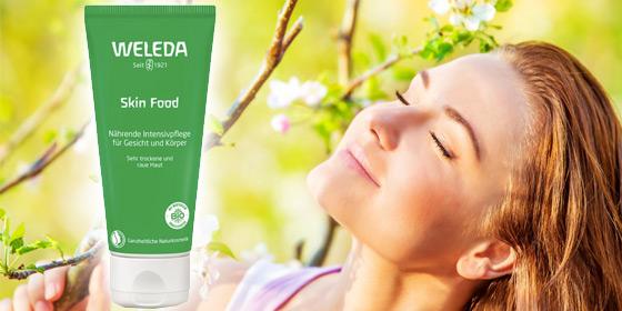 Weleda Skin Food ist eine natürliche Basispflege für die ganze Familie.