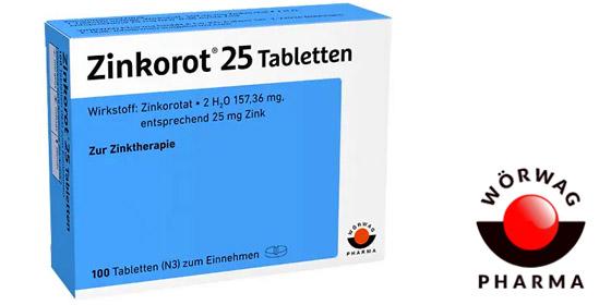 Zinkorot® unterstützt das Immunsystem bei Zinkmangel.